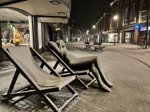 Afbeelding #003 voor het verhaal Sneeuwnacht Middelburg 7 februari 2021