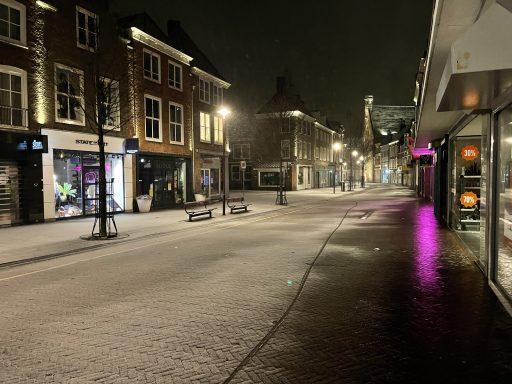 Afbeelding #004 voor het verhaal Sneeuwnacht Middelburg 7 februari 2021