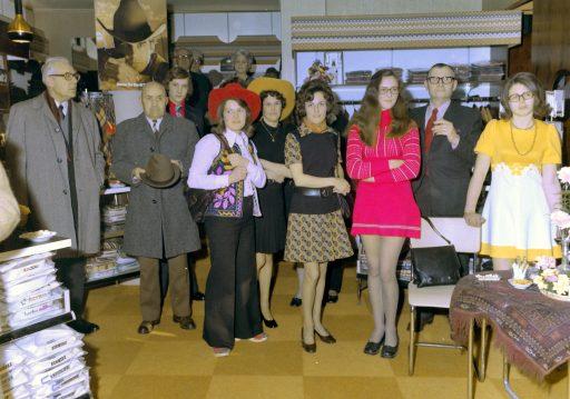 Afbeelding #004 voor het verhaal Een glimp van 65 jaar Peca Herenmode: de heropening in 1973