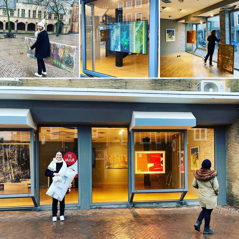 Afbeelding #000 voor het verhaal Een tijdelijke expositie van Kunstuitleen Zeeland in de Lange Delft