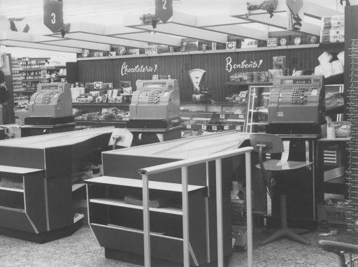 Afbeelding #020 voor het verhaal Middelburg-Zuid, jaren 60: de opening van Winkelcentrum Welsinge en Supermarkt Raas