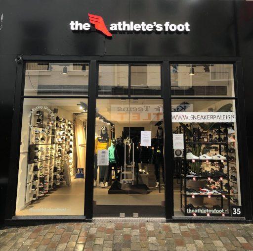 Afbeelding #001 voor het verhaal Sneakerpaleis Middelburg wordt The Athlete's Foot