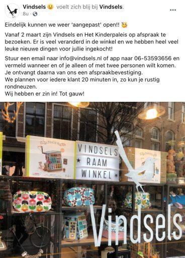 Afbeelding #000 voor het verhaal Winkelen en behandelingen op afspraak in Middelburg