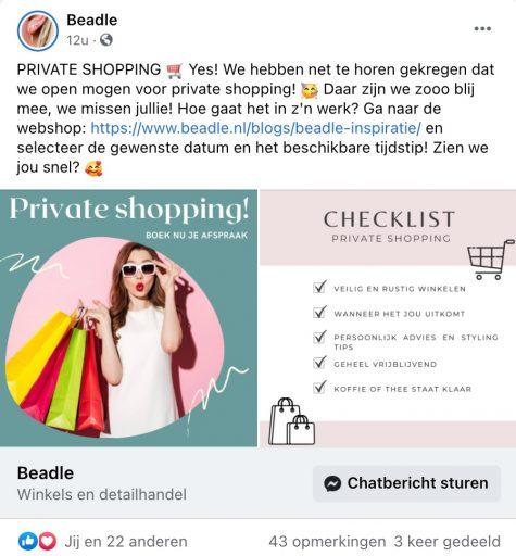 Afbeelding #003 voor het verhaal Winkelen en behandelingen op afspraak in Middelburg