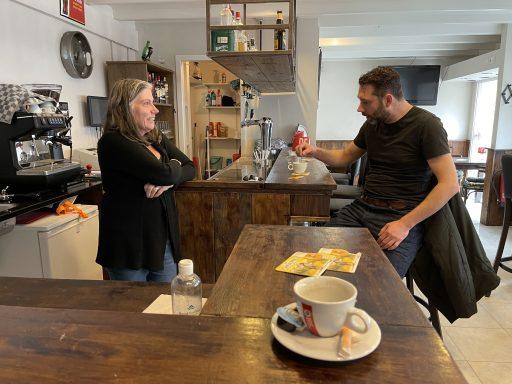 Afbeelding #009 voor het verhaal Café Nummer Vijf in de Herenstraat: klaar voor de opening
