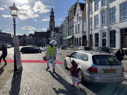 Afbeelding #000 voor het verhaal Van de nood een deugd maken: judo in de Graanbeurs in Middelburg