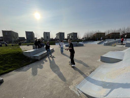 Afbeelding #004 voor het verhaal Middelburgse skaters starten petitie voor behoud skatebaan