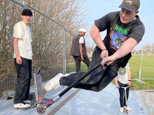 Afbeelding #007 voor het verhaal Middelburgse skaters starten petitie voor behoud skatebaan