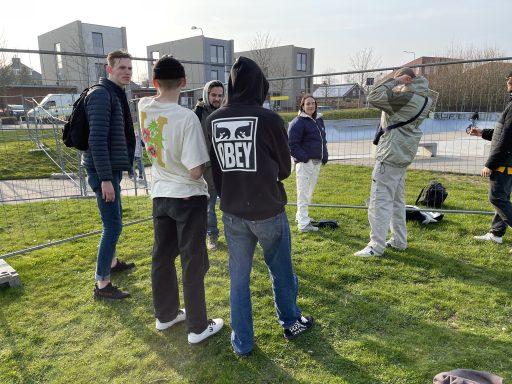 Afbeelding #010 voor het verhaal Middelburgse skaters starten petitie voor behoud skatebaan