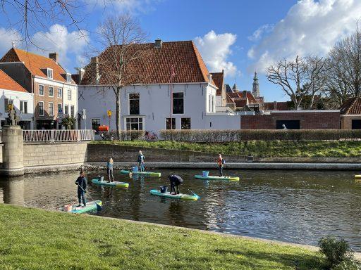 Afbeelding #011 voor het verhaal Supclean-up vist Middelburgse grachten schoon