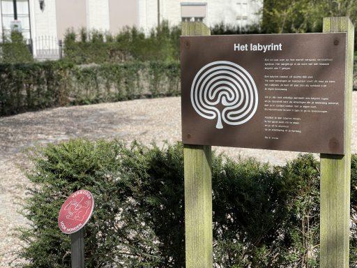 Afbeelding #000 voor het verhaal Vele wendingen en gezichten: een nieuw labyrint in Park Toorenvliedt