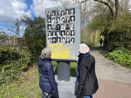 Afbeelding #000 voor het verhaal Reizende buitententoonstelling OPEN over depressiviteit strijkt neer in Middelburg
