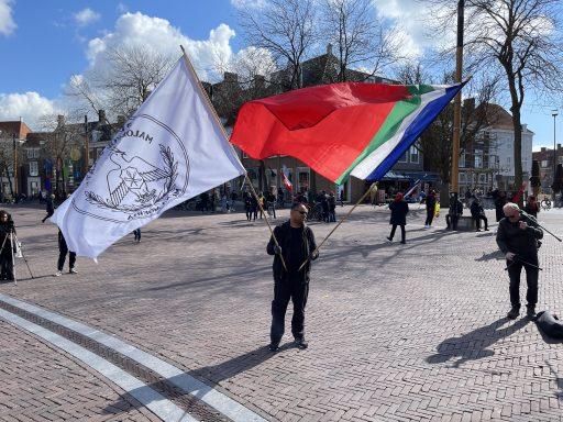 Afbeelding #000 voor het verhaal Een stilteprotest van de Molukse gemeenschap in Middelburg
