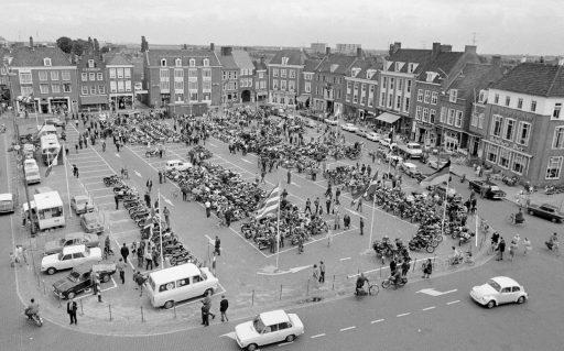 Afbeelding #000 voor het verhaal Horeca aan de Markt in Middelburg, juni 1971