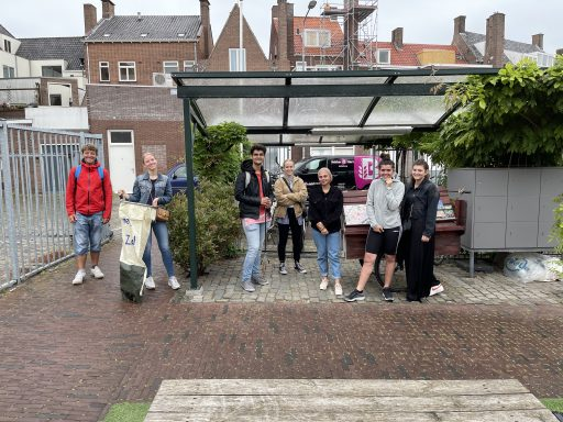Afbeelding #000 voor het verhaal HZ Green Office: studenten HZ organiseren opruimactie in Middelburg Centrum