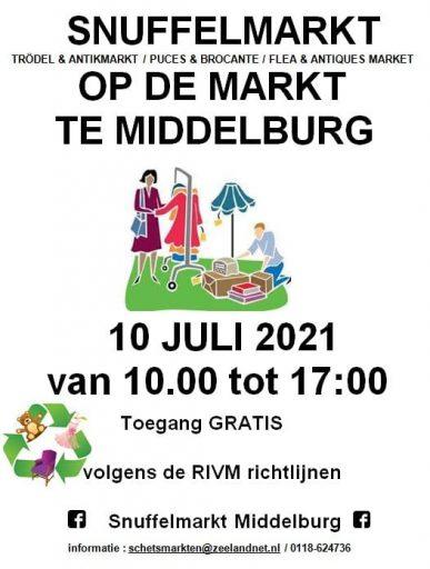 Afbeelding #001 voor het verhaal Boeken-, rommel- en snuffelmarkten ook weer van start in Middelburg!