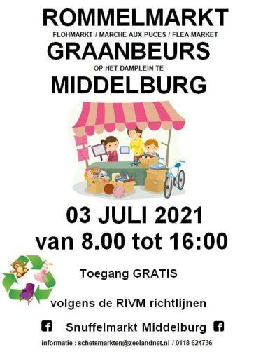Afbeelding #002 voor het verhaal Boeken-, rommel- en snuffelmarkten ook weer van start in Middelburg!