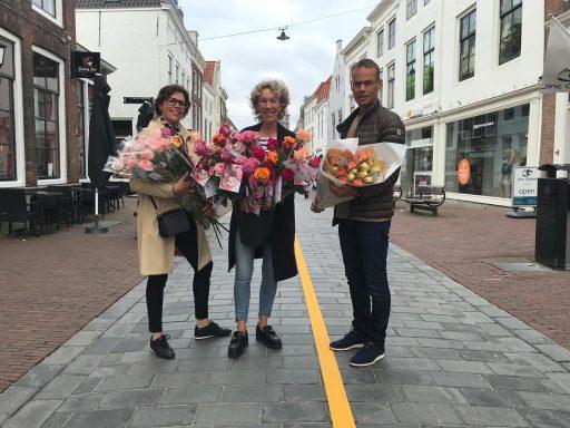 Afbeelding #000 voor het verhaal Een roos voor Middelburgse ondernemers
