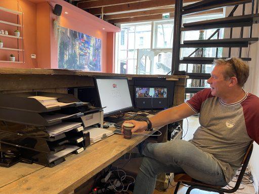 Afbeelding #002 voor het verhaal Stadstochten en Escaperooms komen samen in de Lange Noordstraat