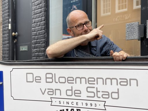 Afbeelding #003 voor het verhaal De Bloemenman van de stad verhuist naar de Lange Delft in november