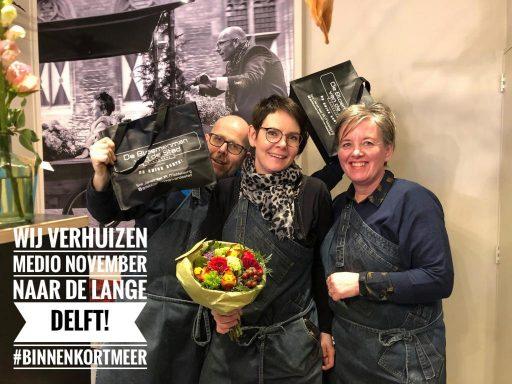 Afbeelding #000 voor het verhaal De Bloemenman van de stad verhuist naar de Lange Delft in november