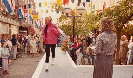 Afbeelding #001 voor het verhaal Modeshows op de Burgpromenade, oktober 1985