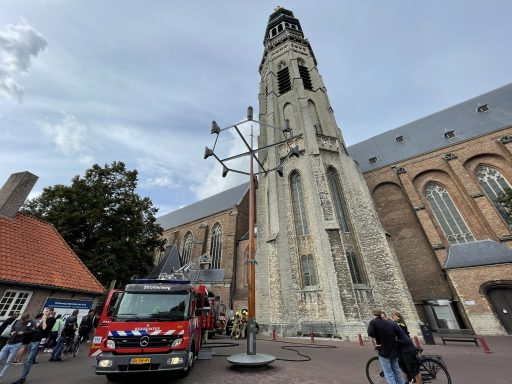 Afbeelding #005 voor het verhaal Brand Onder Den Toren