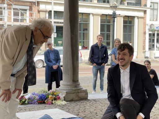 Afbeelding #002 voor het verhaal Kasper Bosmans voegt werk toe aan Podio del Mondo per l'Arte in Middelburg