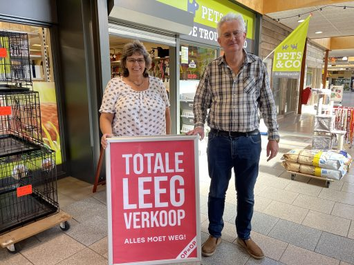 Afbeelding #000 voor het verhaal Dierenwinkel De Trouwe Vriend stopt, na 37 jaar