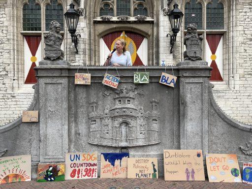 Afbeelding #008 voor het verhaal Waarom de SDG-vlag vandaag ook in Middelburg wappert