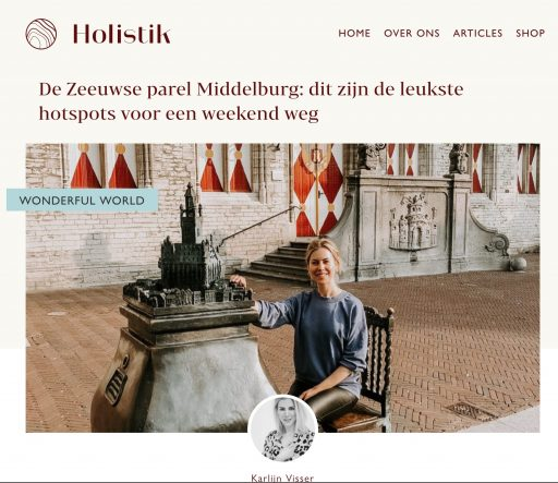 """Afbeelding #000 voor het verhaal Holistik.nl: """"en óf Middelburg over holistische hotspots beschikt!"""""""
