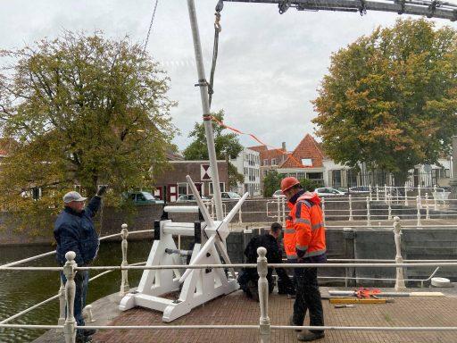 Afbeelding #000 voor het verhaal Wielen spuisluis Middelburg weer strak in de lak